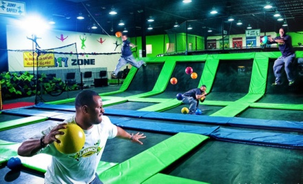 One Hour of Trampoline Time for One or Two at Launch Trampoline Park (Half Off)