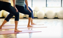 Three or Six Hot-Yoga Barre Classes at Daniela's Hot Yoga and BARRE (Up to 60% Off)