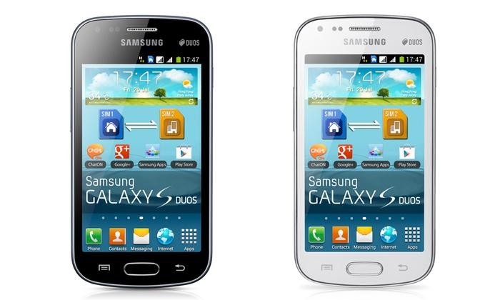 Net Service: Samsung Galaxy S Duos dual SIM a 109,90 € invece di 139