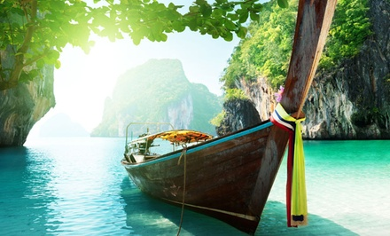 ✈ 10-Day Thailand Vacation with Airfare from Affordable Asia Tours. Price per Person Based on Double Occupancy.