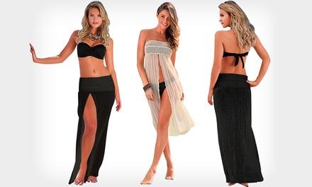 Vestido de praia aberto 2 em 1 por 16,99€ ou dois por 29,99€