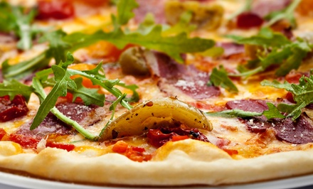Starters with Pizza or Small Plates, or Carry-Out at SIP Appetizer Bar (Up to 54% Off)