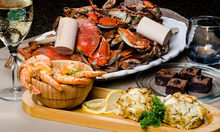 $39 for $89 Worth of Maryland Blue Crabs and Premium Seafood from Harbour House Crabs