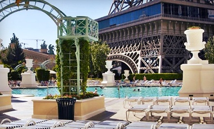 Pool Outing for Two, Cabana Rental for Up to Six, or Villa Rental at Soleil Pool at Paris Las Vegas (Up to 71% Off)