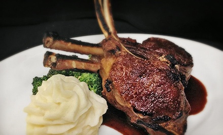 Fine Steakhouse Cuisine and Seafood at Kelly&#x27;s Prime Steak &amp; Seafood (Half Off). Four Options Available.