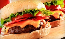 $7.50 for a Hamburger Meal for Two with French Fries at Top Burger ($14.96 Value)