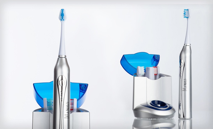 Bling Diamond Ultrasonic Toothbrush