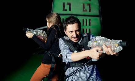 Laser-Tag and Arcade Package for Two, Four, or Six at Laser Voyage Cafe (Up to 54% Off)