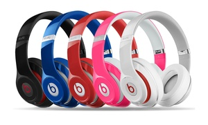 Beats By Dre Studio Over-ear Wired Or Wireless Headphones
