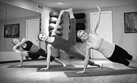 One or Three Months of Unlimited Classes or One 10-Class Punch Card at The Yoga Room (Up to 65% Off)