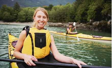 $45 for an Intro Standup-Paddleboarding Class for One or an All-Day Kayak Rental for Two at Paddle Creek ($90 Value)