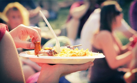 $50 for Two Admissions to Gourmet Feastival on Thursday, September 26, Benefitting The Centre ($100 Value)