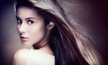 Haircut with Deep Conditioning, Color, or Highlights, or a Keratin Treatment at Aspen Salon and Day Spa (Up to 71% Off)