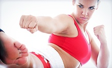 10 or 20 Kickboxing Classes from GoForItKickboxing.com (Up to 87% Off)