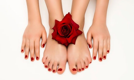 One or Three Mani-Pedi with Optional No-Chip at Boutique Nails (Up to 59% Off)