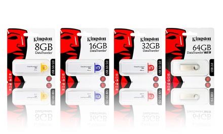 Pendrive Kingston G4 DataTraveler de 8, 16 ou 32 GB desde 6,99€
