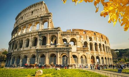 Supraflights — Roma: 3 noites para 1 pessoa em hotel de 3* com voos, taxas e autocarro de e para o aeroporto desde 224€