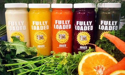 $99 for Three-Day Juice Cleanse from Fully Loaded Micro Juicery ($189 Value)
