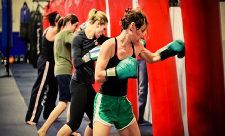 One Month of Unlimited Fitness or Fitness and Martial-Arts Classes at FTF Fitness and Self Defense (Up to 75% Off)