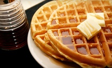 Two Waffles with Toppings and Two Drinks with Syrup or C$10 for C$20 Worth of Waffles at Waffle Gone Wild