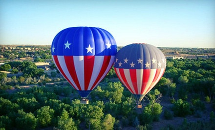 Hot-Air Balloon Ride with Champagne and Snack for One or Two from World Balloon (Up to 51% Off)
