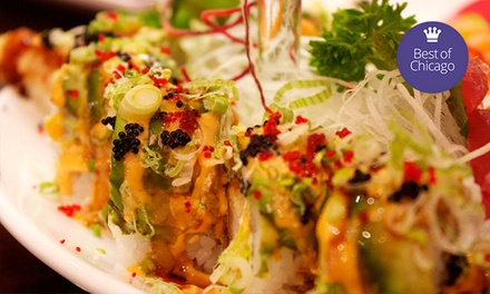 $15 for $30 Worth of Japanese Cuisine at Aodake Sushi & Steak House