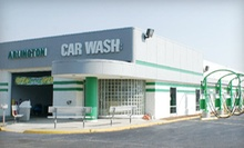 10 Express Washes, Three Platinum Wash Packages, or an Exterior Detail at Arlington Car Wash and Detail (Up to 75% Off)