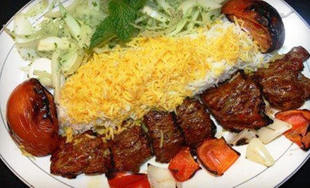 Middle Eastern Dinner for Two, Four, or Six People at Cali Kabob Restaurant (Up to 68% Off)