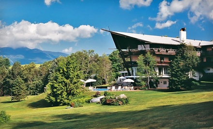 groupon daily deal - 2-Night Stay for Two with Breakfast and Dining Credit at Stowehof Inn & Resort in Stowe, VT. Combine Up to 4 Nights.