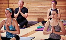 One Month of Unlimited Classes or 10 Drop-In Classes at Terra Yoga (Up to 73% Off)