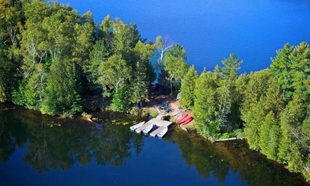 Groupon Deal: 2-Night Stay for Up to Four in Select One- or Two-Bedroom Chalets at Kenauk Nature in Montebello, QC