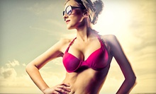 One or Three Custom Airbrush Tans from Tan To You (Up to 57% Off) 