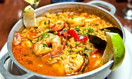 Portuguese and Cuban Cuisine for Two or Four at Lisboa-Habana Restaurant (47% Off)