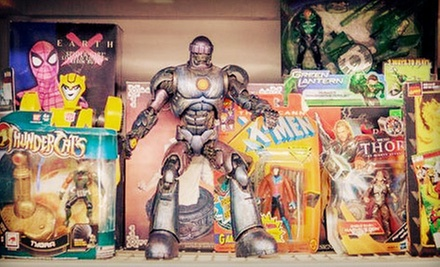 Video Games, Gaming Consoles, and Memorabilia at Warp Zone (Half Off). Two Options Available.