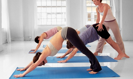 5, 10, or 15 Yoga Classes at Divine Center of Yoga (Up to 68% Off)