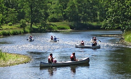 $35 for a Kishwaukee River Canoe Trip for Two from Larsen's Landing Outfitters ($70 Value)