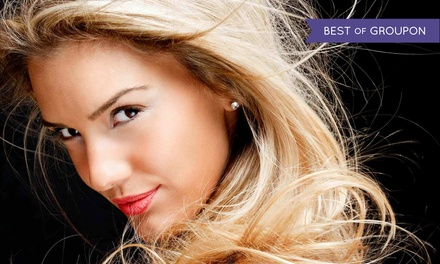 Haircut, Style, and Conditioning with Optional Foil Highlights at Simplified. A Hair Shoppe. (Up to 51% Off)