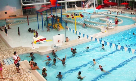 All-Day Athletic-Center and Waterpark Passes for Two or Four to Romulus Athletic Center (Up to 48% Off)