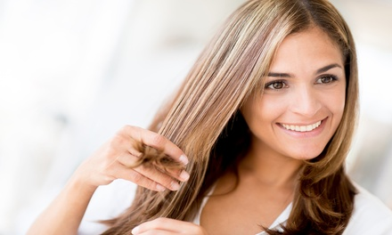 Haircut with Options for Partial or Full Highlights from Meghan Bassett at All Teased Up (Up to 53% Off)