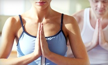 10 or 20 Yoga Classes at Bhakti in Motion (Up to 76% Off)
