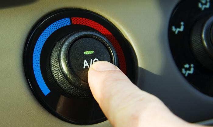 Balzano Antonello - Stazione Agip: Ricarica del climatizzatore auto o con in più check up da 19,90 €