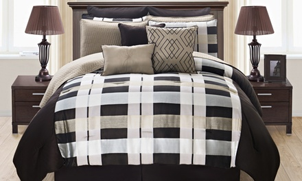 12-Piece Luxembourg Oversized Comforter Set with Coverlet