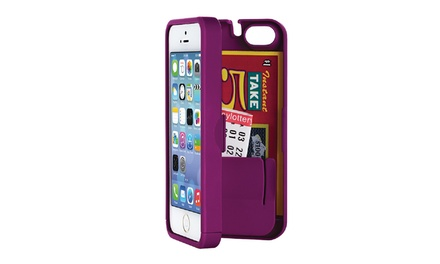 EYN Smartphone Case with Hidden Storage for iPhone 5/5s