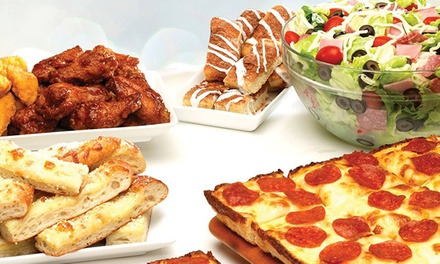 Pizza and Sub Sandwiches at Jet's Pizza (50% Off). Two Options Available.