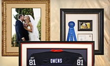 Custom Framing at Art & Frame Express (Up to 61% Off). Two Options Available.