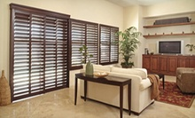 Custom Window Treatments from The Window Fashion Pros (Up to 70% Off). Two Options Available.