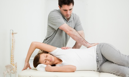 Chiropractic Exam with X-Rays and One or Three Adjustments or One-Hour Massage at Go Chiropractic (Up to 91% Off)