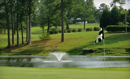 18 Holes of Golf with Cart Rental and Optional Hot-Dog Meals for Two or Four at Country Club of Newberry (Up to 58% Off)
