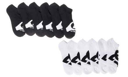 6-Pack of Men's DC or QuikSilver Moisture-Wicking No-Show Socks