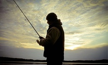Four-Hour Fishing Tour or River Trip, or a Lesson with Riverbank Fishing from Charles River Charters (Up to 41% Off)